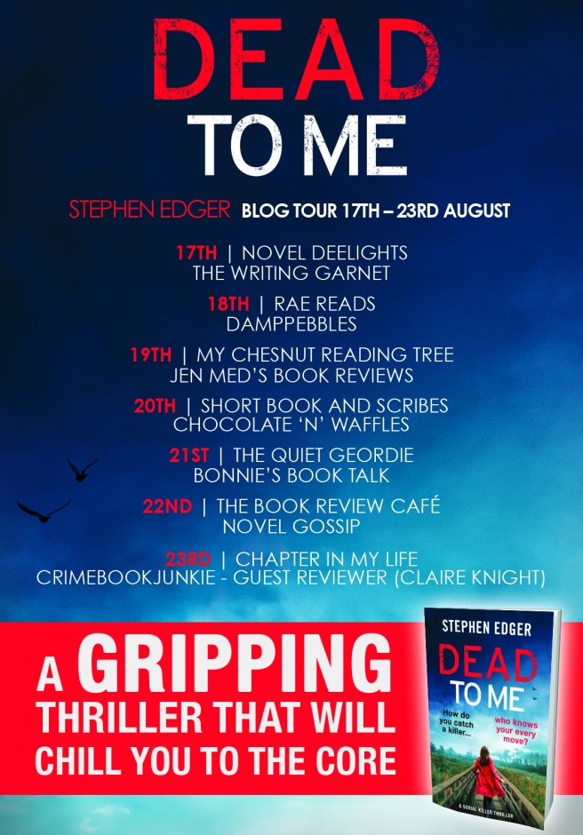 Dead to me Blog Tour