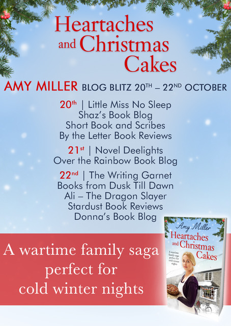 Heartaches and Christmas cakes - Blog Tour
