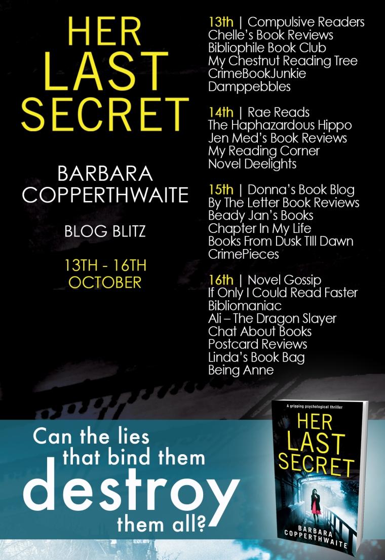 Her Last Secret - Blog Tour