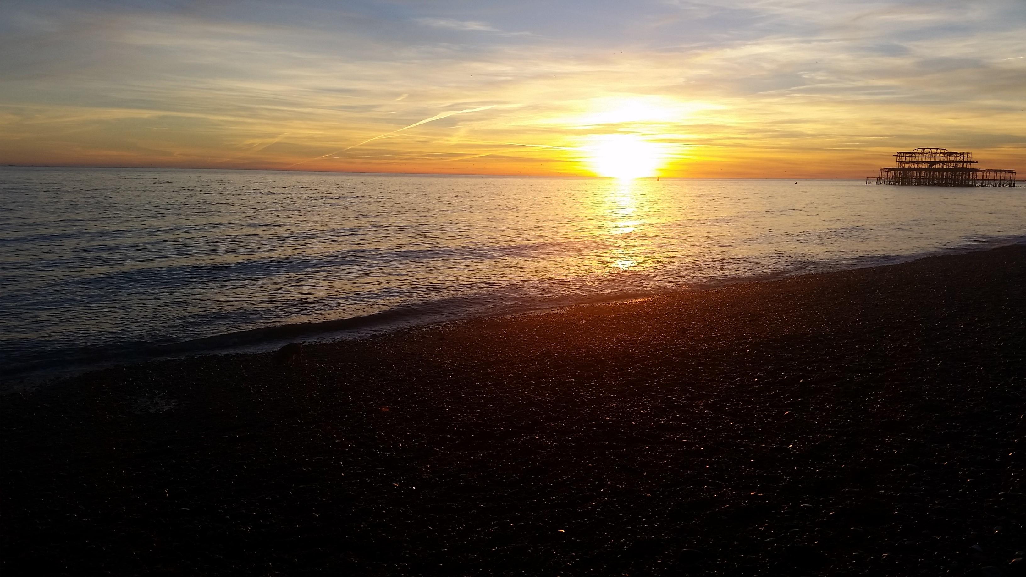 Brighton sunset 2