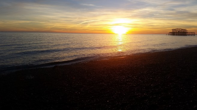 Brighton sunset 2